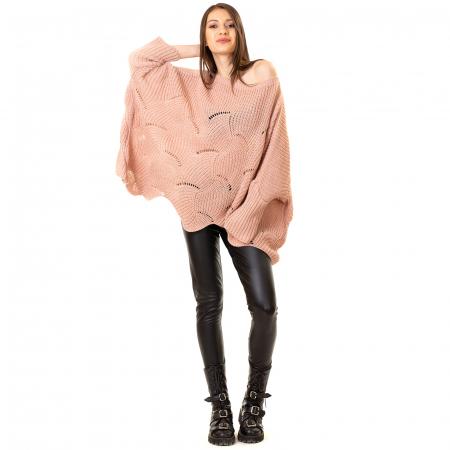 Bluza oversize cu maneca tip fluture1