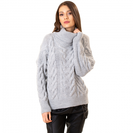 Bluza tricotata cu guler4