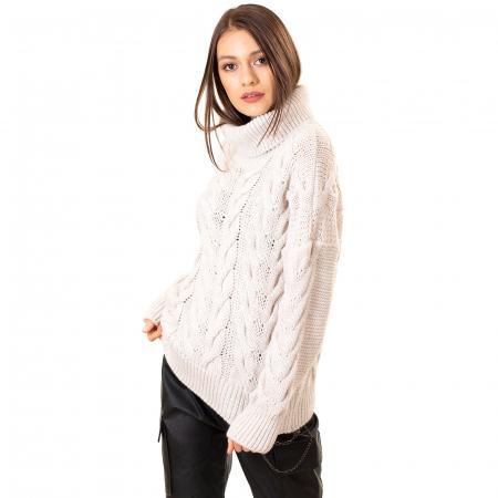 Bluza tricotata cu guler rol5