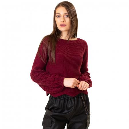 Bluza scurta cu maneca bufanta [3]