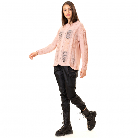 Bluza trcicotata transparenta [3]