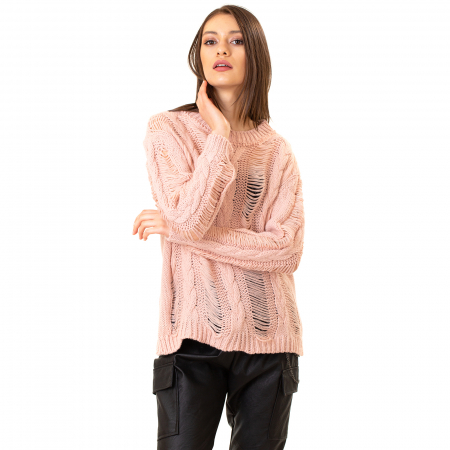 Bluza trcicotata transparenta [5]