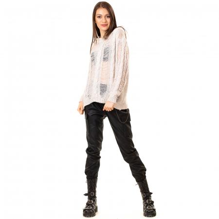 Bluza tricotata transparenta2