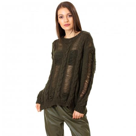 Bluza tricotata transparenta4