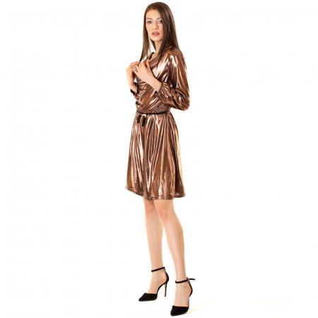 Rochie cu guler cazut2