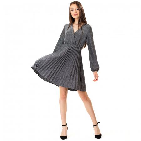 Rochie plisata din talie3