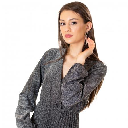 Rochie plisata din talie6