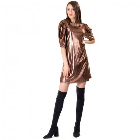 Rochie cu maneca incretita1
