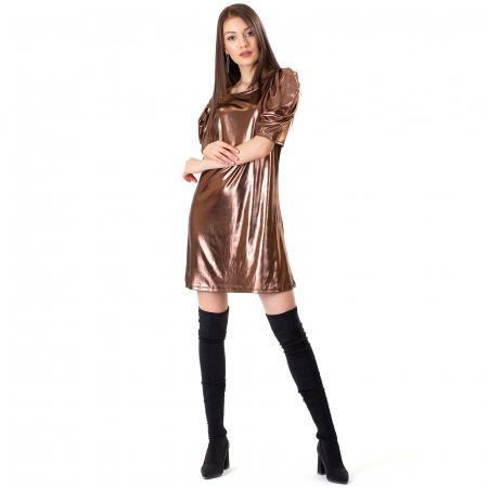 Rochie cu maneca incretita2