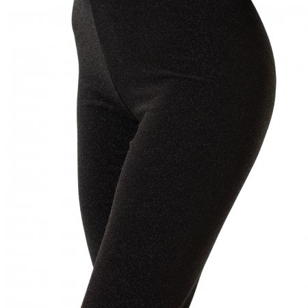 Pantalon tip colant cu sclipici0