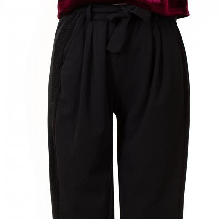 Pantalon cu cordon in talie1