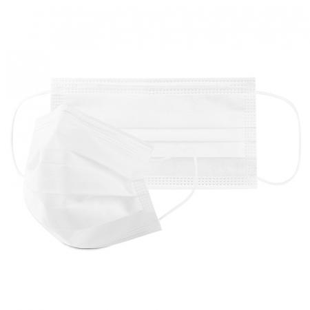 Masca de protectie civila de tip chirurgical FFP1    / ambalare *1 CUTIE 50 buc /  marca proprie AEA MEDICAL produs in ROMANIA / SIBIU -culoare ALB0