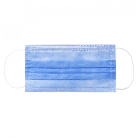 Masca medicala TIP IIR / ambalare *1 CUTIE 50 buc / marca proprie AEA MEDICAL produs in ROMANIA / SIBIU-culoare ALBASTRU [2]