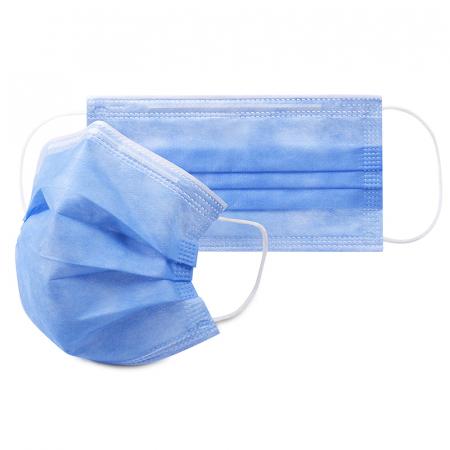 Masca medicala TIP IIR / ambalare *1 CUTIE 50 buc / marca proprie AEA MEDICAL produs in ROMANIA / SIBIU-culoare ALBASTRU [0]