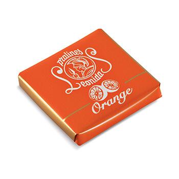 Patrat ciocolata neagra si portocale [0]