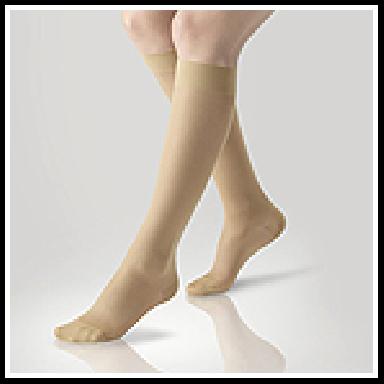 Ciorapi medicinali compresivi Gilofa Basic 140D până la genunchi-AD 2