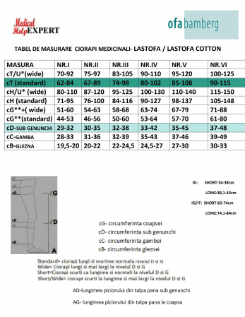 Ciorapi Medicinali Compresivi LASTOFA Cotton [6]