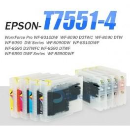 Cartuse Refill Epson seria T7551-T7554 0