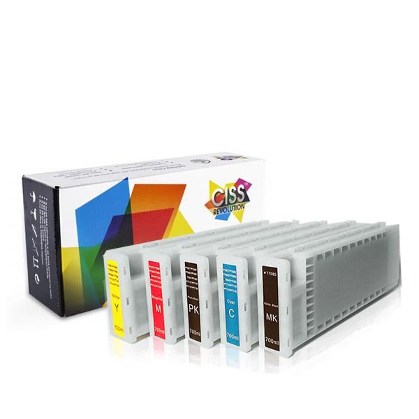 Cartuse refill Epson SureColor SC T3000, T3200, T5000, T5200, T7000, T7200 0