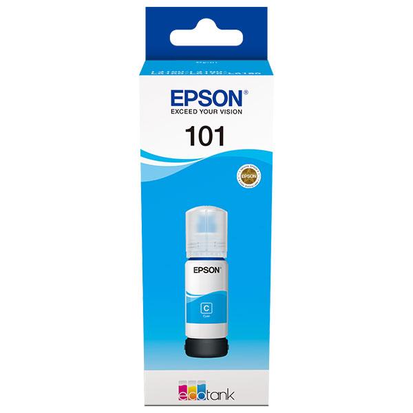 Cerneala Epson 101 EcoTank/ITS C13T03V24A cyan - imprimante Epson L4150, L4160, L6160, L6170, L6190 0