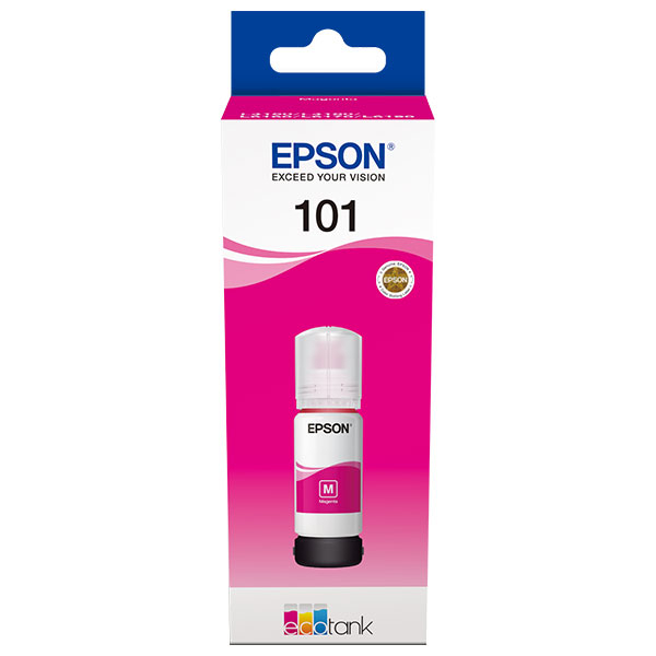 Cerneala Epson 101 EcoTank/ITS C13T03V34A magenta- imprimante Epson L4150, L4160, L6160, L6170, L6190 0