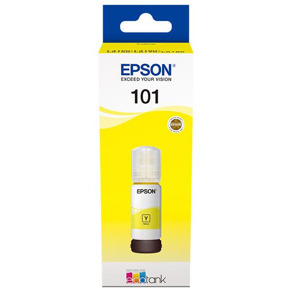 Cerneala Epson 101 EcoTank/ITS C13T03V44A yellow - imprimante Epson L4150, L4160, L6160, L6170, L6190 0