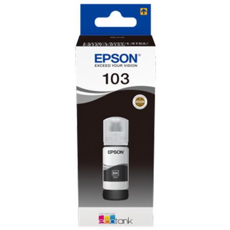 Cerneala Epson 103 Black (C13T00S14A) - imprimanta Epson L3110 / L3111 / L3150 / L3151 / L3160 / L5190 [0]