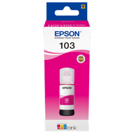 Cerneala Epson 103 Magenta (C13T00S43A) - imprimanta Epson L3110 / L3111 / L3150 / L3151 / L3160 / L5190 [0]