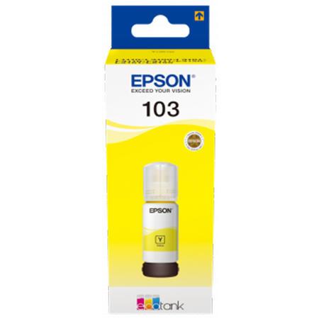 Cerneala Epson 103 Yellow (C13T00S44A) - imprimanta Epson L3110 / L3111 / L3150 / L3151 / L3160 / L5190 0