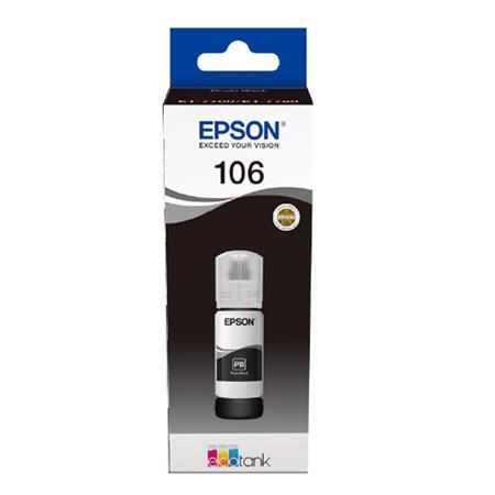 Cerneala Epson 106 Black (C13T00R340) - imprimanta Epson L7160 / L7180 [0]