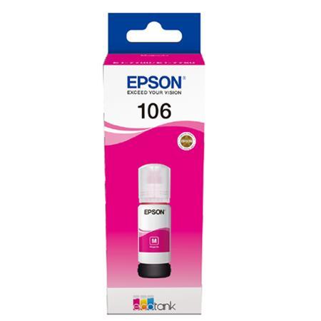 Cerneala Epson 106 Magenta (C13T00R340) - imprimanta Epson L7160 / L7180 0