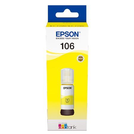 Cerneala Epson 106 Yellow (C13T00R440) - imprimanta Epson L7160 / L7180 [0]
