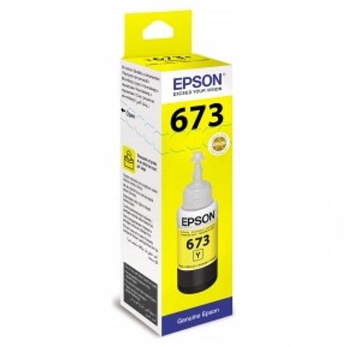 Cerneala Epson T6734 YELLOW - imprimanta Epson L800 / L810/ L1800 / L805 /L850 0