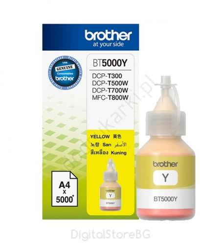 Cerneala originala Brother BT5000Y Yellow- imprimante Brother T300, T310 / T500W / T510W / T700W / T710W / T910DW 0