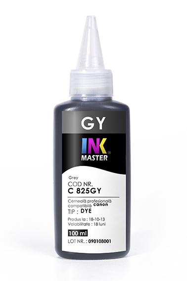 Cerneala profesionala Inkmaster compatibila Canon - DYE, GRAY, C825GY [0]