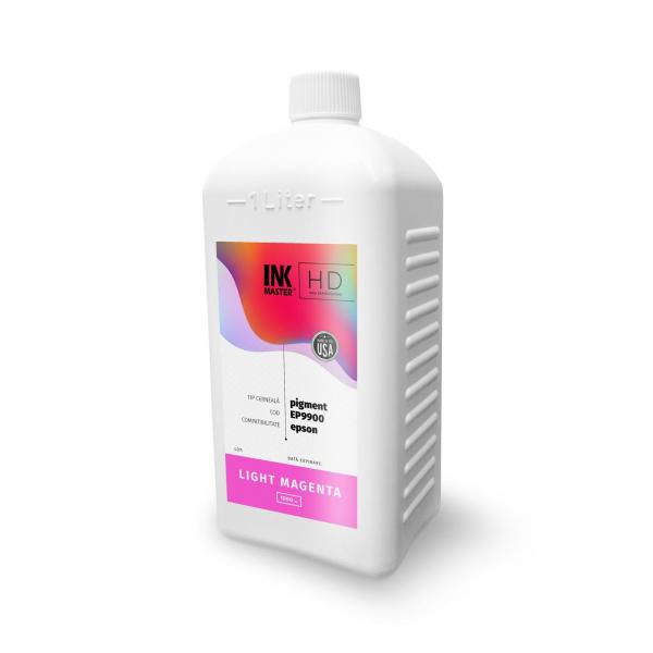 Cerneala profesionala Inkmaster compatibila Epson - PIGMENT, Light Magenta, EP9900LM, 1 Litru 0