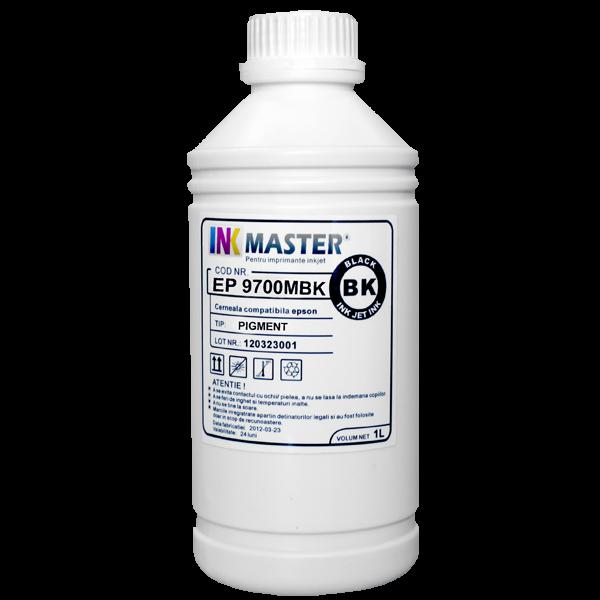 Cerneala profesionala Inkmaster compatibila Epson - PIGMENT, Matte Black, EP9700MBK [0]