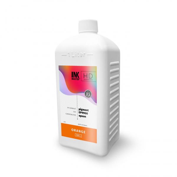 Cerneala profesionala Inkmaster compatibila Epson - PIGMENT, Orange, EP9900OR, 1 Litru 0