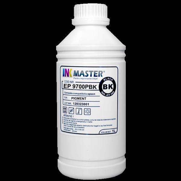 Cerneala profesionala Inkmaster compatibila Epson - PIGMENT, Photo Black, EP9700PBK 0