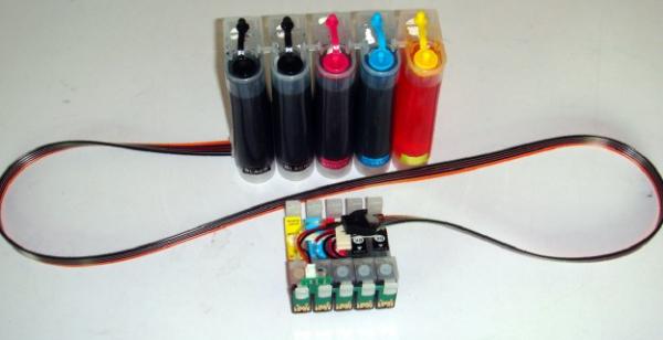 CISS Epson T1291-T1294 (5 culori) 1