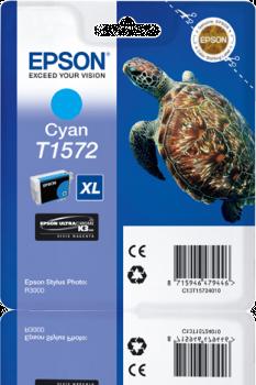 Epson T1572 - Cartus Cyan pentru imprimanta Epson R3000 0