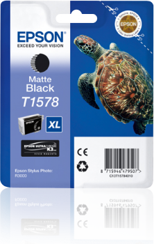 Epson T1578 - Cartus Matte Black pentru imprimanta Epson R3000 0