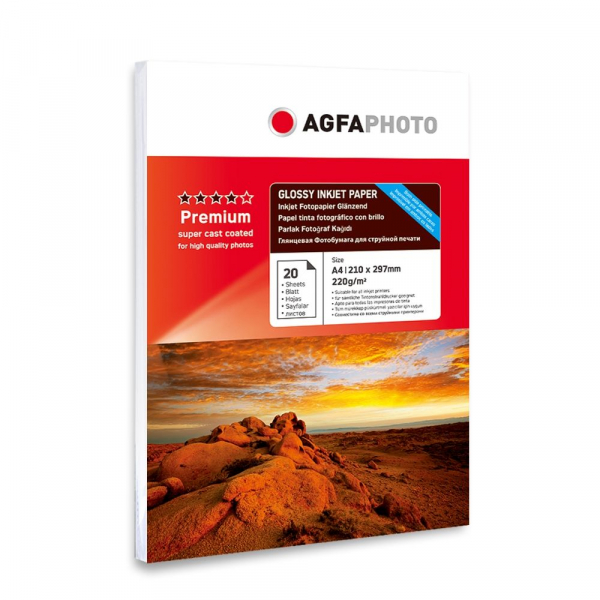 Hartie foto Agfa Double Glossy A4 220g/mp 0