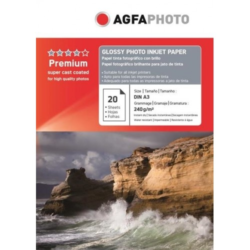Hartie foto Agfa Glossy A3 240g/mp CC 0