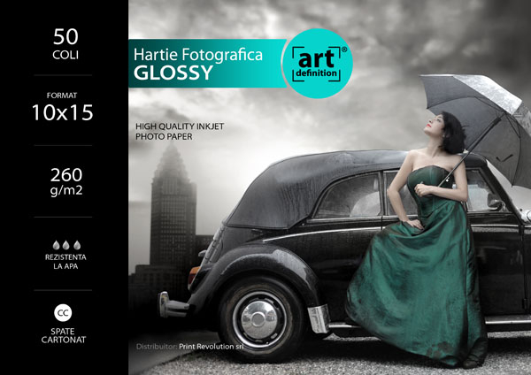 Hartie foto ArtDefinition CC 10x15 glossy 260gr/m2 [0]
