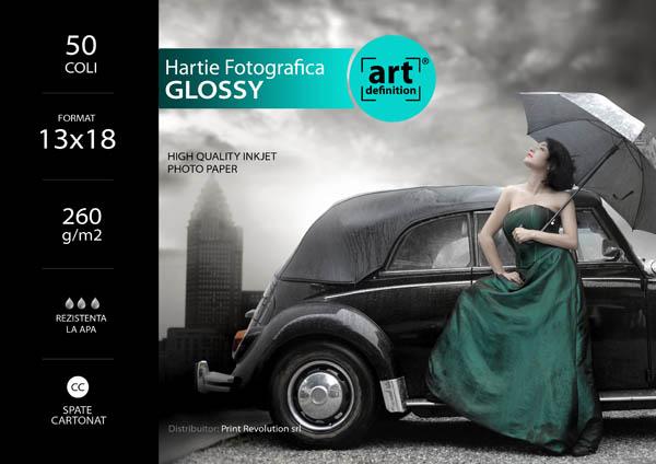 Hartie foto ArtDefinition CC 13x18 glossy 260gr/m2 0