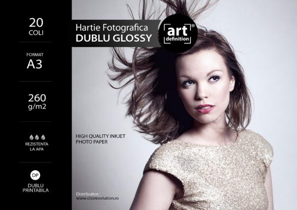 Hartie foto ArtDefinition Double Glossy A3 260g/mp [0]