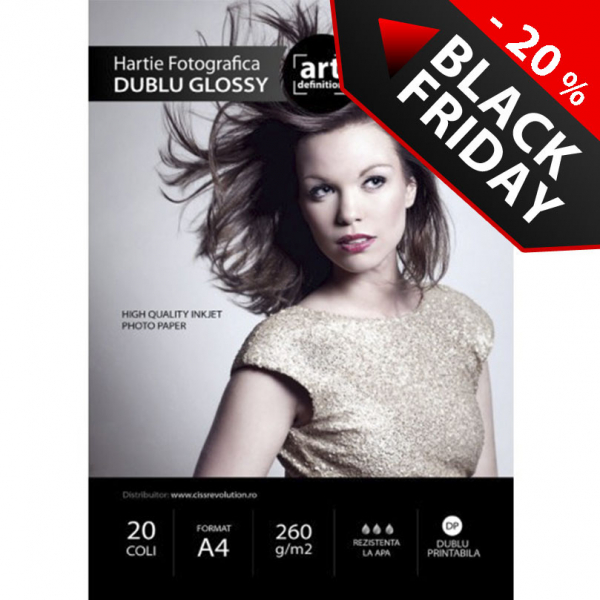 Hartie foto ArtDefinition Double Glossy A4 260g/mp 1