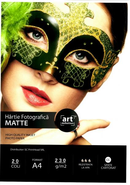 Hartie foto ArtDefinition Matte CC A4 230g/mp [0]