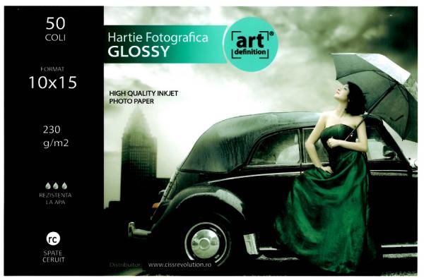 Hartie foto ArtDefinition RC 10x15 glossy 230gr/m2 0